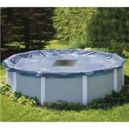 Bache piscine ronde 6,20m
