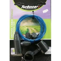 Cable antivol vélo