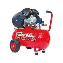 Compresseur 50L Bi-cylindre gros débit